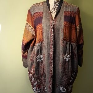 Soft Surroundings 1x Boho Jacket